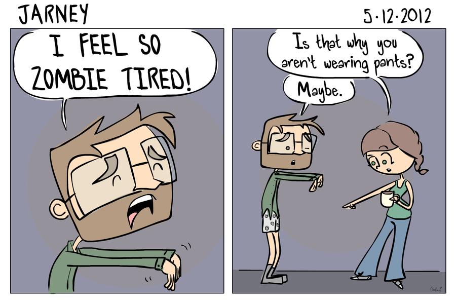 ständigt trött